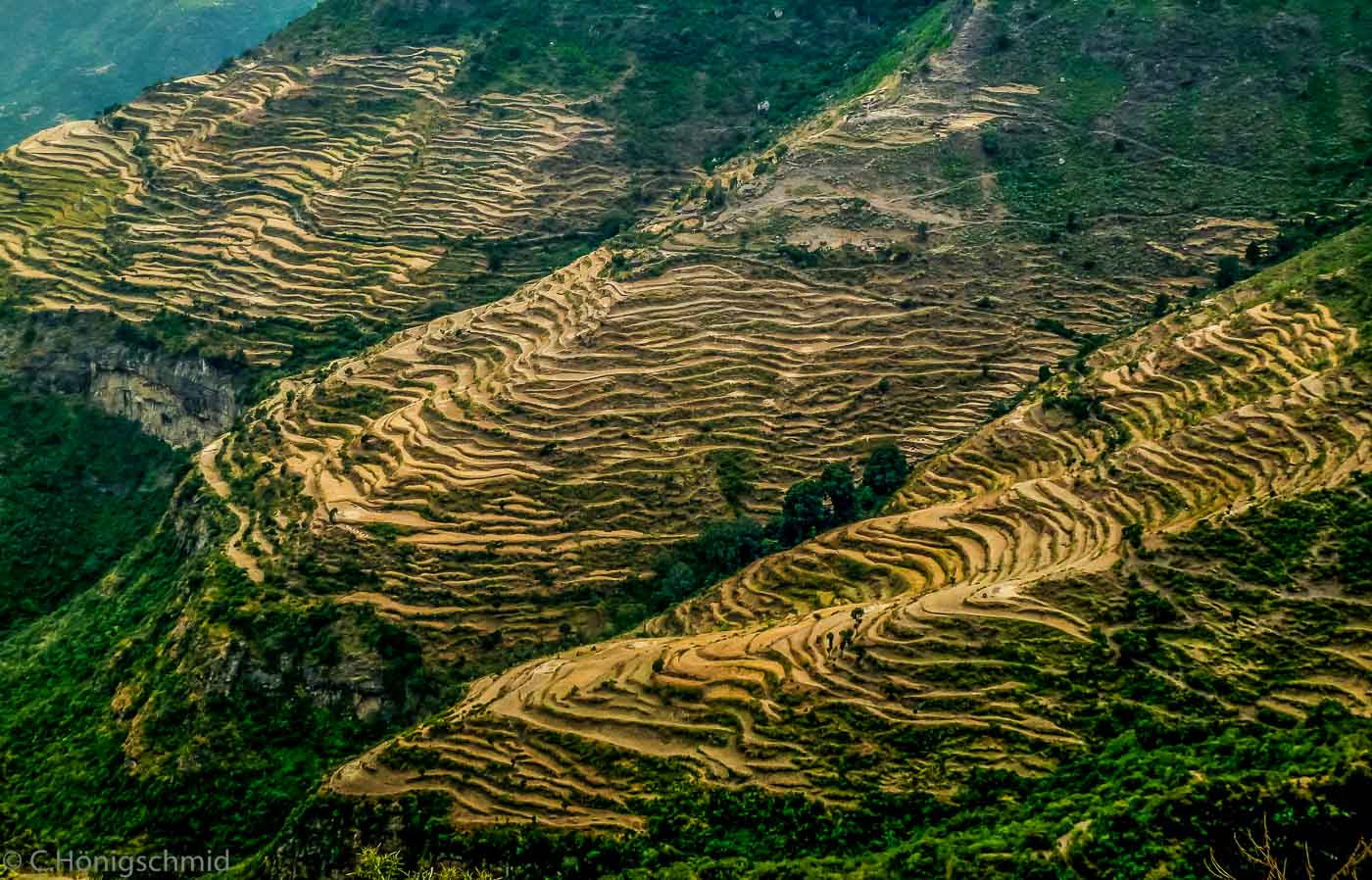 Landschaft bei La Libella, Äthiopien